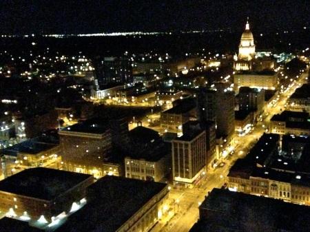 Illinois-Capital-Building-Night