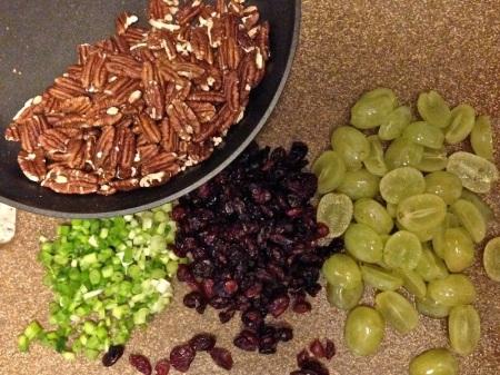 Pecans-Scallions-Dried-Cranberries-Grapes