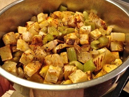 Roasted-sweet-potato-celery-onion