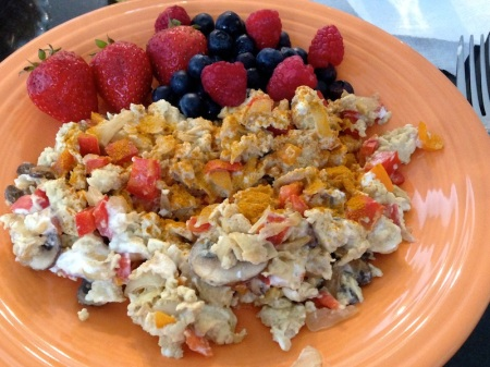 Scrambled-Eggs-Turmeric-berries