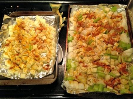 veggies-trays-before-roasting
