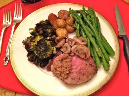 christmas-dinner-standing-rib-roast-vegetables