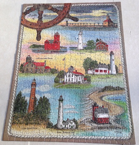 finished-jigsaw-puzzle-michigan-lighthouses