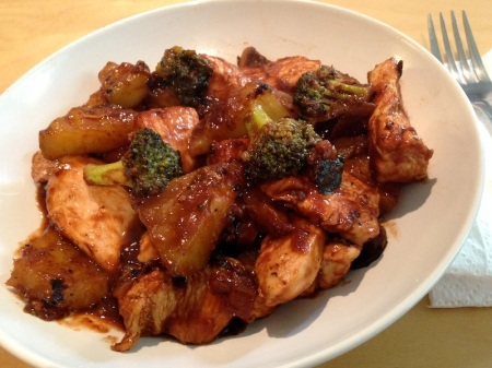bbq-chicken-and-chayote