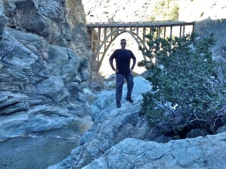 david-below-bridge-to-nowhere