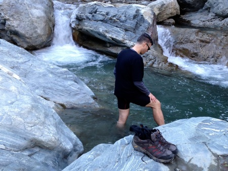 david-wading-into-creek