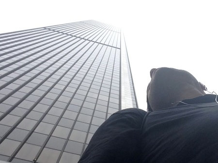 looking-up-aon-center-foggy