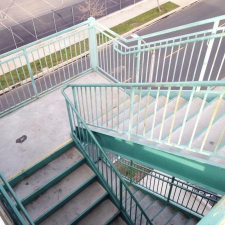 parking-garage-stairs