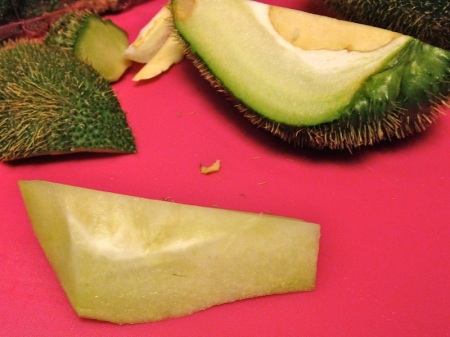 peeled-piece-thorny-chayote