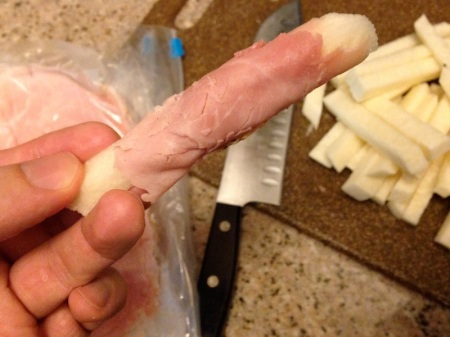 ham-wrapped-around-jicama