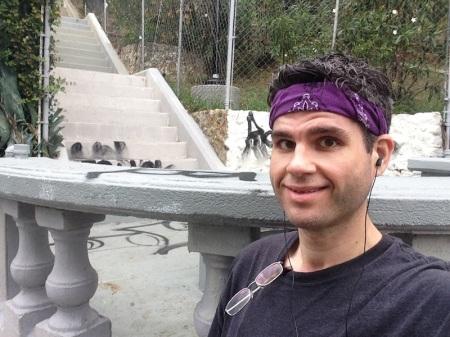 selfie-st-andrew-stairway