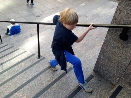eddie-practicing-stairs