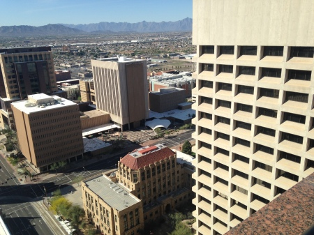 View-From-Top-Of-Renaissance-Square-Phoenix