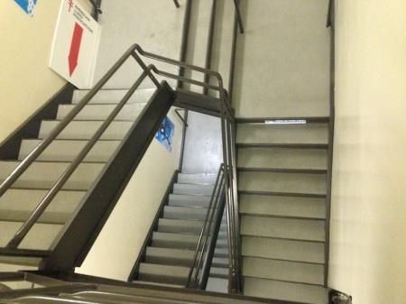 Aon-Center-Stairwell