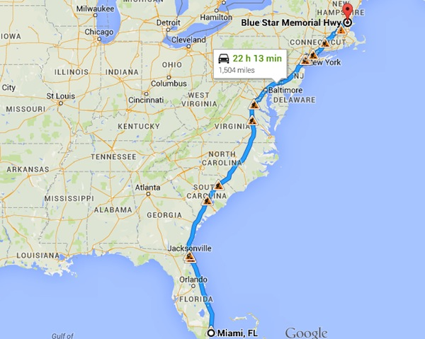 Fun With Maps How Far Is 1 500 Miles Keep It Up David