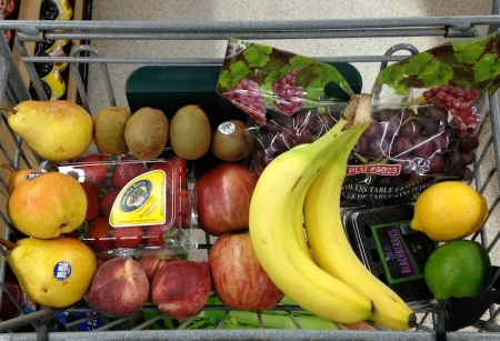 fruit-in-shopping-cart