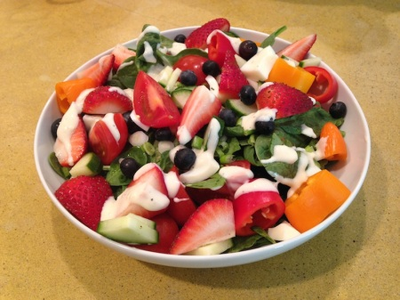 spinach-salad-strawberries-hard-boiled-eggs