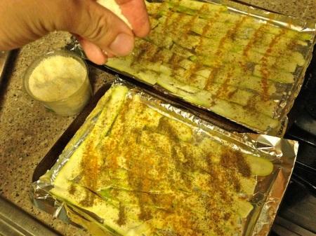 zucchini-strips-on-tray