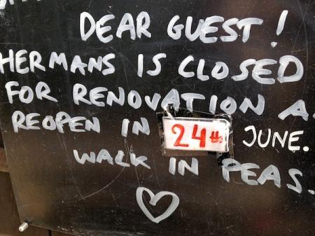 Hermans-Sign