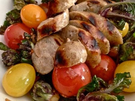 chicken-apple-sausage-veggies-george-foreman-butcher-shop