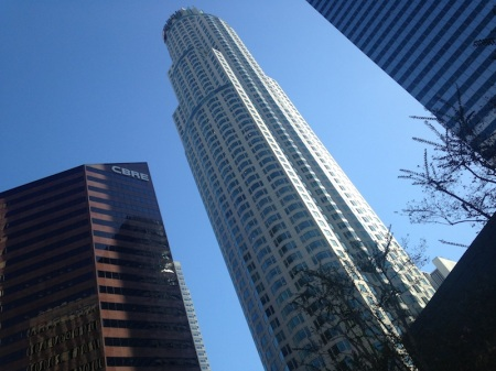 US Bank Tower pusat-los angeles-