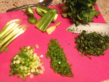 chopped-scalllion-jalapeno-cilantro-green-onions
