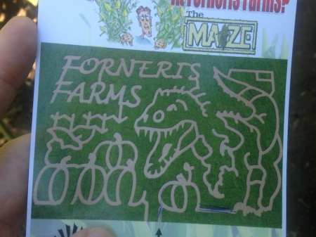 forneris.farms.corn.maze.map
