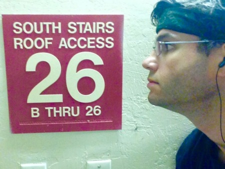26-stories-sign-stairwell