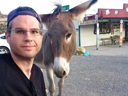david-donkey-selfie