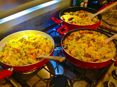 pans-of-paella-stove