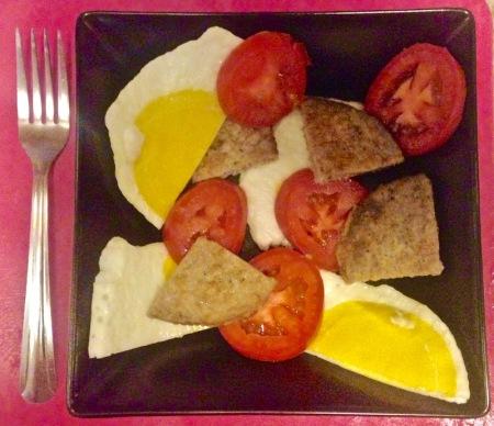 Egg Patties with Sausage