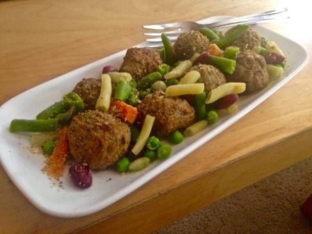 Italian Style Meatballs with Omaha Vegetable Blend