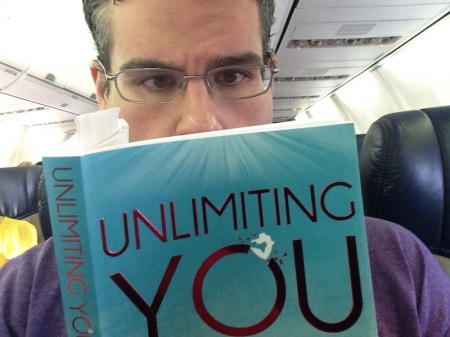 """Unlimiting You"" was my airplane go-to book for most of 2015."