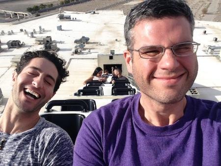 Tavi-David-Desperado-Lift-Hill-Selfie-Buffalo-Bills