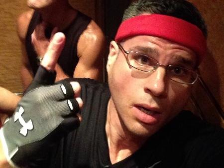 David-elevator-selfie