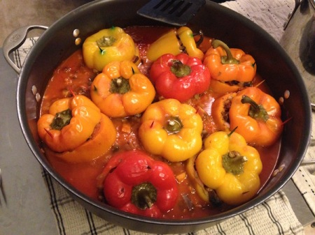 vegan-stuffed-peppers-in-dutch-oven