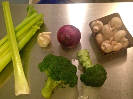 celery-onion-garlic-mushrooms-broccoli