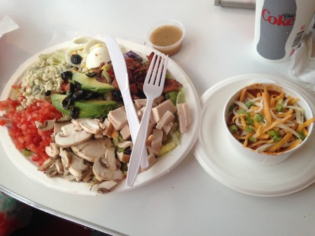 rubys-diner-cobb-salad-chili