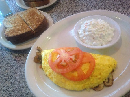 veggie-omelet-cottage-cheese