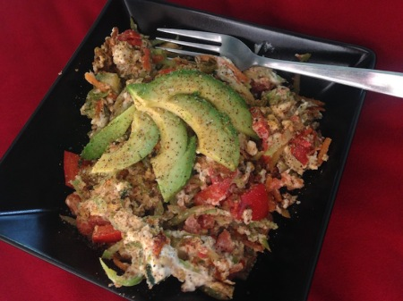 veggie-scramble-eggs-avocado