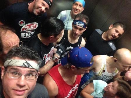 crowded-elevator-selfie-towerthon