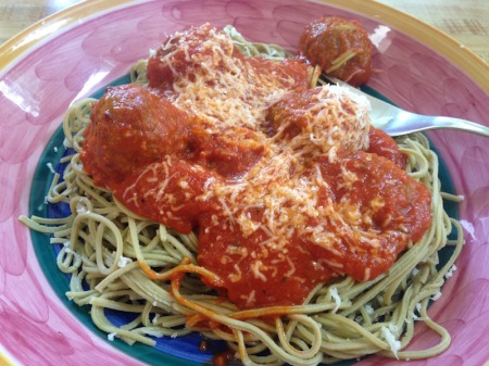 edamame-pasta-and-meatballs