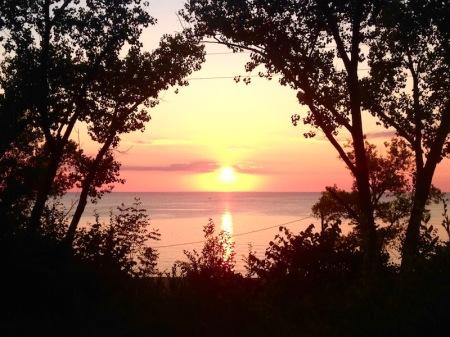 lake-michigan-sunset