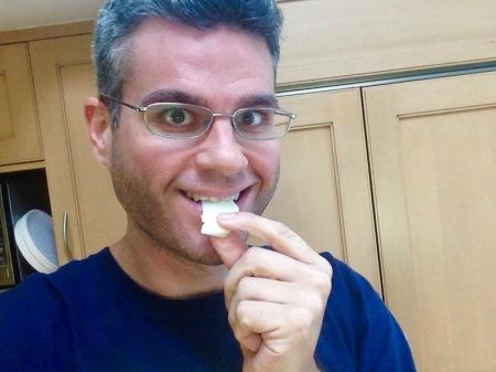 david-eating-raw-kohlrabi