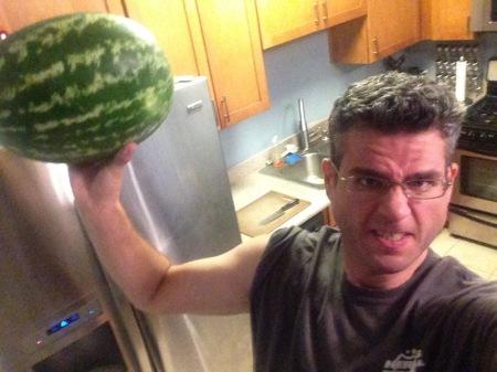 david-watermelon-military-press