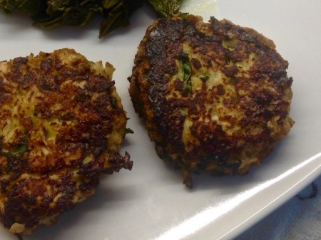 kohlrabi-cakes-on-plate