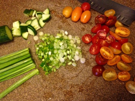 chopped-scallion-tomatoes-cucumber