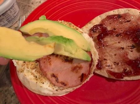 assembling-breakfast-sandwich