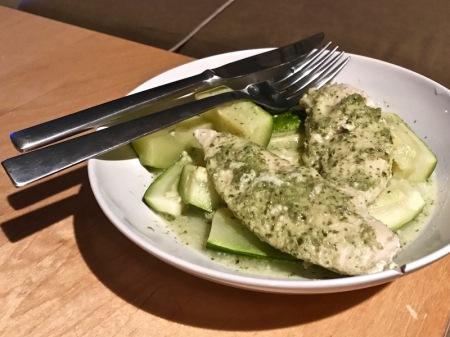 chicken-cilantro-sauce-zucchini
