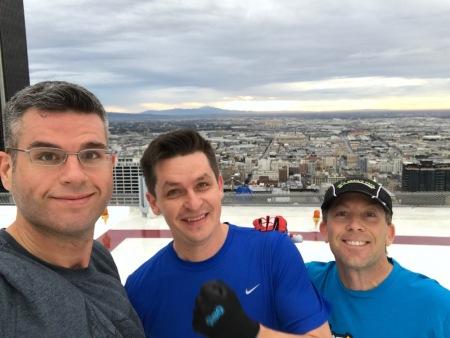 Ruslan, Leland, and me.